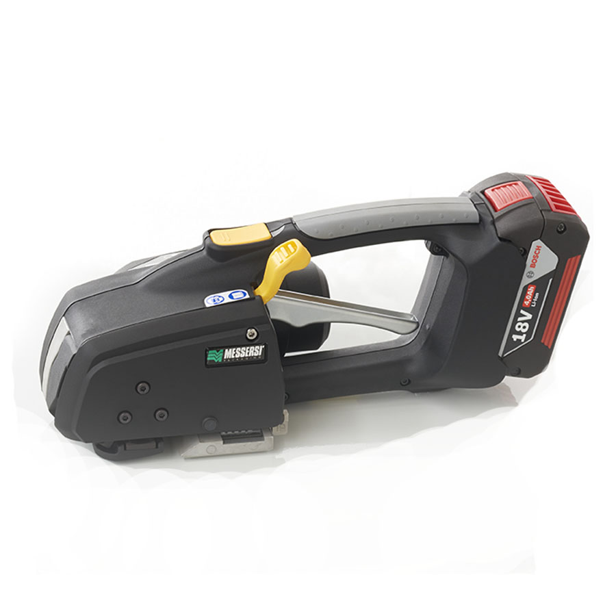 """MB820 battery hand tool 16-19mm (5/8"""" to 3/4"""") banding tool for PET and PP strap w/ Battery & Charger price"""