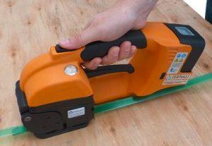 GT ONE 10-16mm Elektryczna bandownica do taśm PET/PP w zestawie bateria i ładowarka