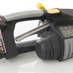 Messersi MB620 12-16mm Ręczna wiązarka akumulatorowa do taśm PET/PP w zestawie bateria i ładowarka 2