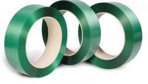 Plastikowa taśma poliestrowa PET - 12mm or 15,5mm lub 19mm do pakowania palet cena