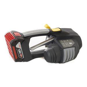 Messersi MB620 12-16mm Ręczna wiązarka akumulatorowa do taśm PET/PP w zestawie bateria i ładowarka