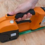 GT ONE 10-16mm Elektryczna bandownica do taśm PET/PP w zestawie bateria i ładowarka 4