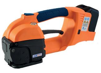 GT ONE 10-16mm Elektryczna bandownica do taśm PET/PP w zestawie bateria i ładowarka 2