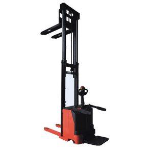 7SMITH Elektryczny wózek podnośnikowy z podestem 1500 kg 260 cm cena